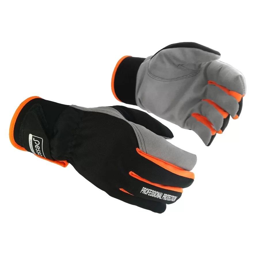 Synthetic leather gloves Pesso Moana pessosafety.eu