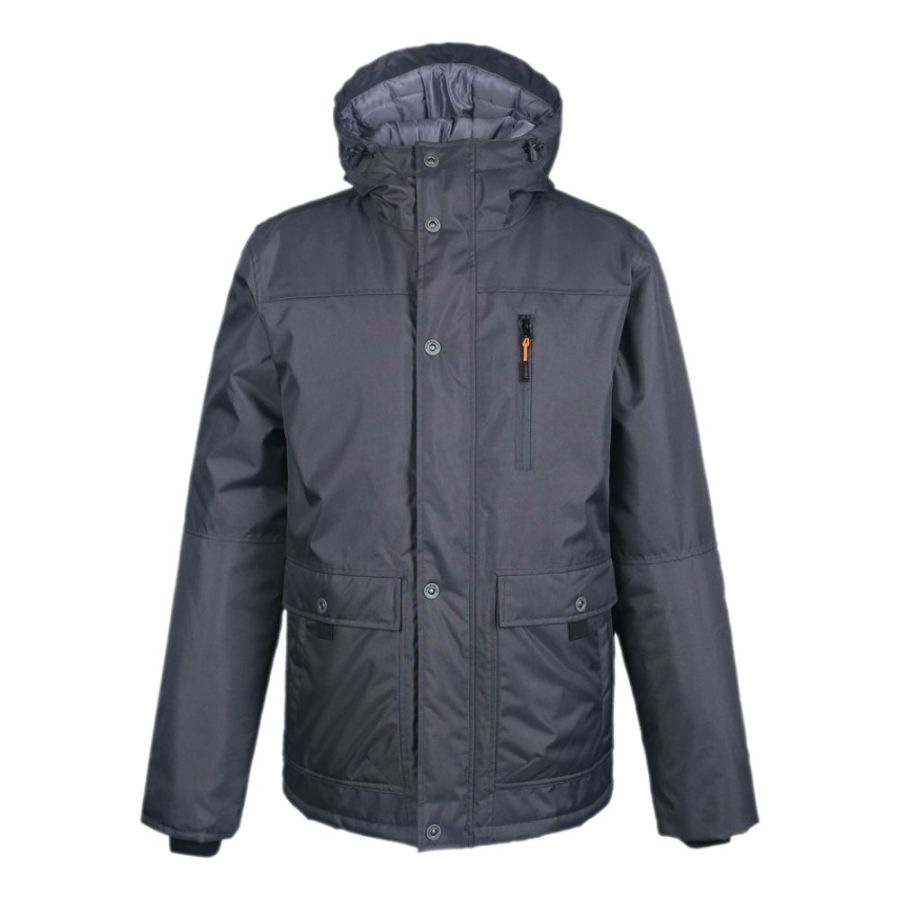 Water-repellent Winter Jacket Pesso Vancouver grey pessosafety.eu