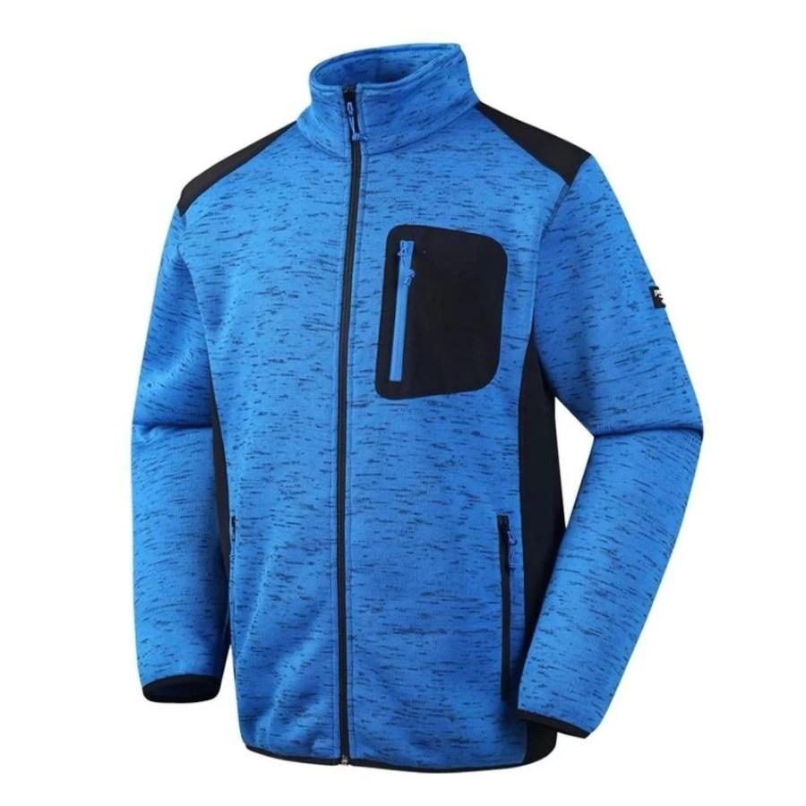 Warm Fleece sweater Pesso Nordic Florence, blue pessosafety.eu