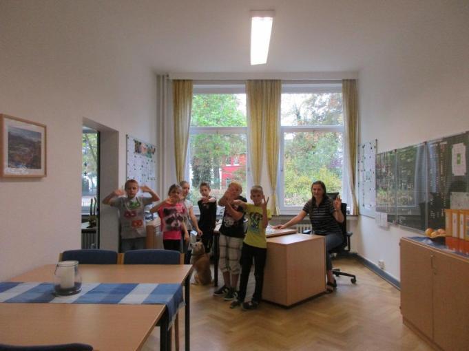 Das Büro der Konrektorin