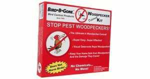 Woodpecker Deterrent Kit