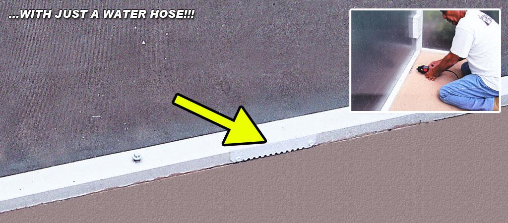 deck drains pool screen enclosure drain