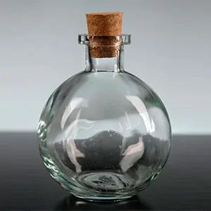 Bottle of alcohol
