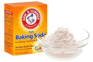 Baking soda and sugar