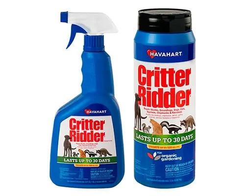 Critter Ridder - number one repellent