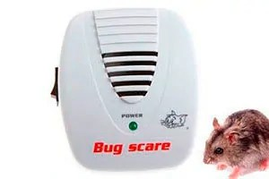 Bug scare electronic mouse deterrent