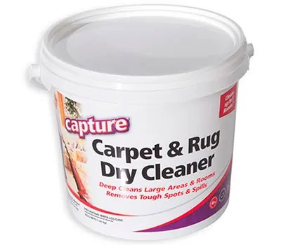 Carpet & Rug Dry Cleaner by Capture