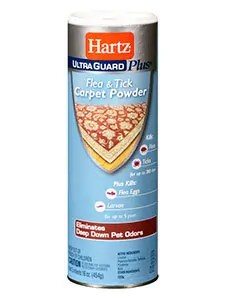 Ultra Quard Plus Flea and Tick Carpet Powder by Hartz