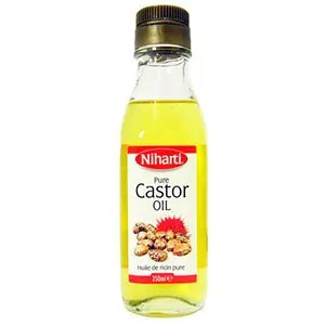 Pure castor oil bottle