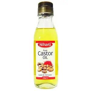 Pure castor oil bottle