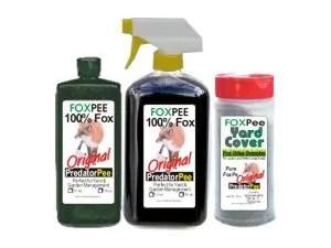 FoxPee commercial squirrels repellents