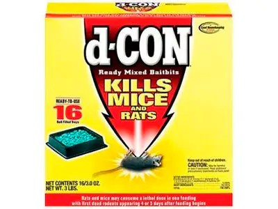 Mixed Baitbits Mice Poison by d-CON