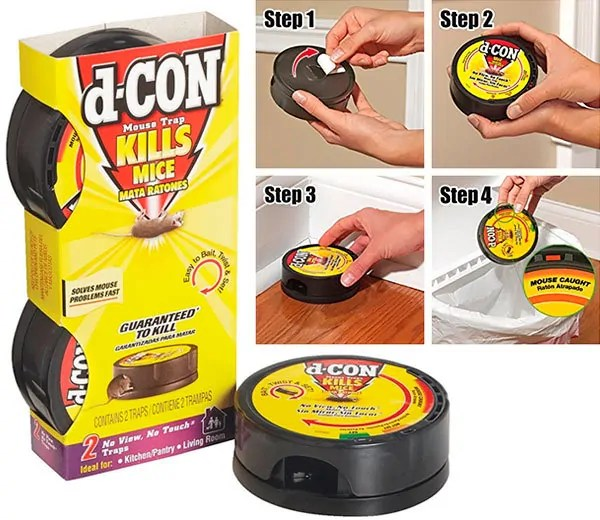 Mouse Trap by d-CON and How to Use Step by Step
