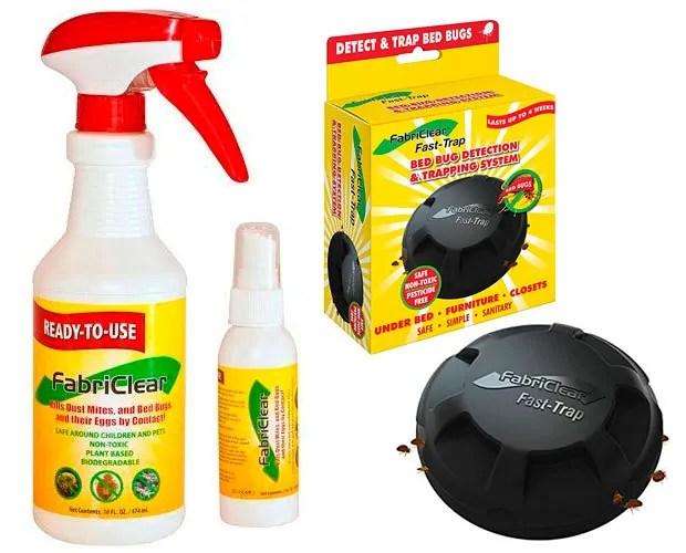 FabriClear: 16 ounce, 2 ounce spray, Fast Trap