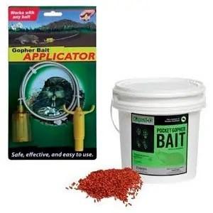Gopher's baits