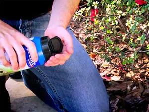 Use granular repellent