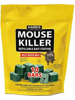 Mouse Killer Refillable Bait Station by Harris