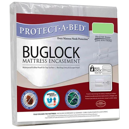 Buglock Mattress Encasement by Healthy Sleep