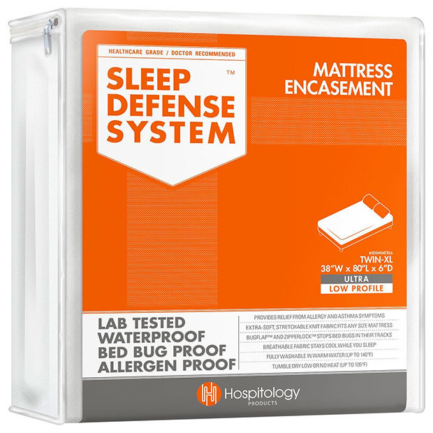 Mattress Encasement Sleep Defense System by Hospitology