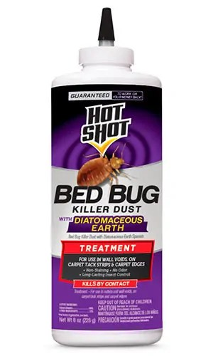 Bed Bug Killer Dust by Hot Shot