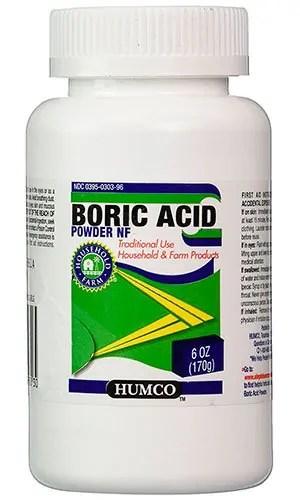 Boric Acid Powder NF by Humco