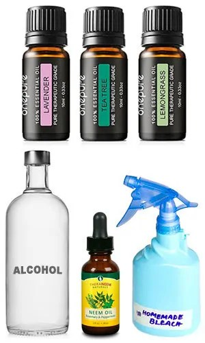 Natural ingredients for spray