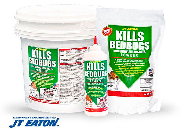 Kills Bedbugs Powder by JT Eaton