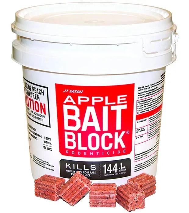 Apple Bait Blocks by JT Eaton