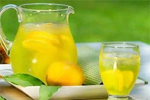 Lemon and juice
