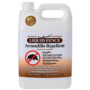 Armadillo repellent by Liquid Fence