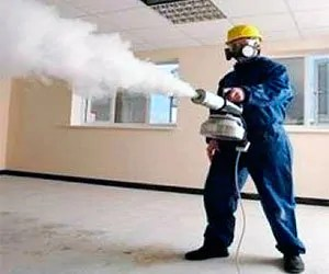 Fumigation man