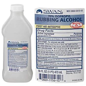 MEDIQUE 70% Isopropyl Rubbing Alcohol by SWAN
