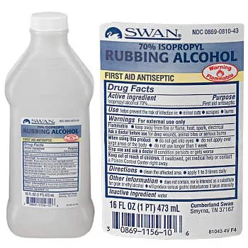 MEDIQUE 70% Isopropyl Rubbing Alcohol by SWAN