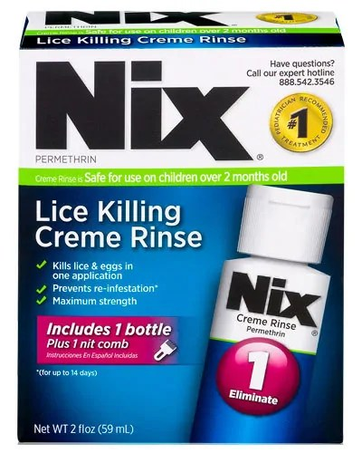 Lice Killing Creme Rinse by Nix