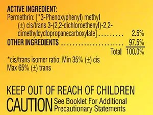 Permethrin ingredients