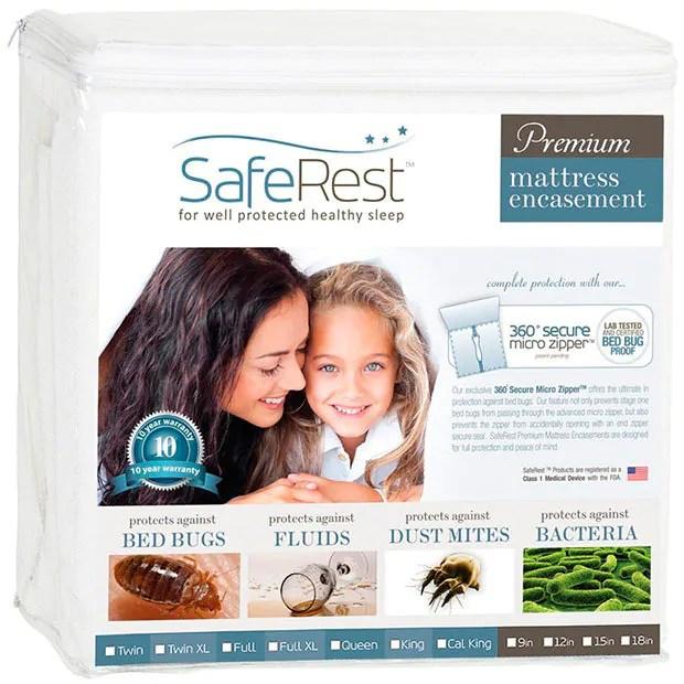Premium mattress encasement by SafeRest