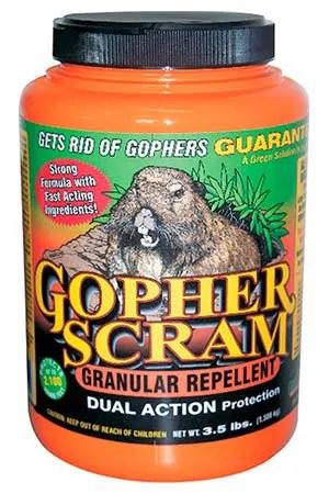 Gopher Scram granular repellent