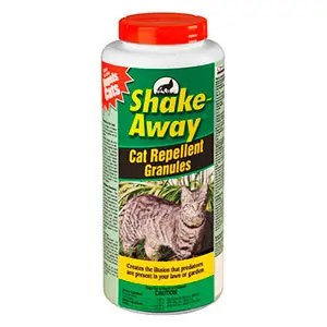 Cat control repellent granules by Shake Away