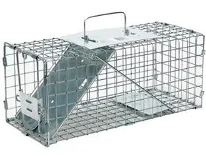 Small one door humane trap