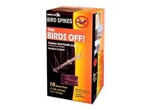 Bird-X STS-10-R Stainless Bird Spikes