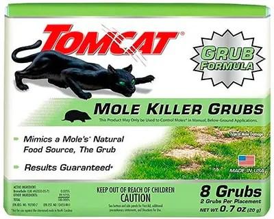 Mole Killer Grubs by Tomcat