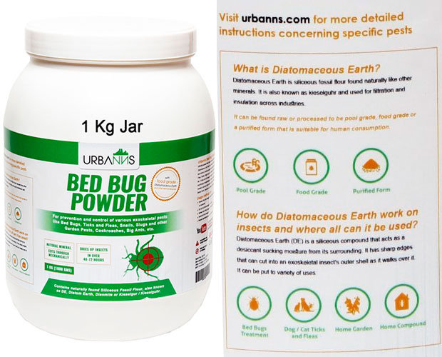 Bed Bug Powder by Urbanns