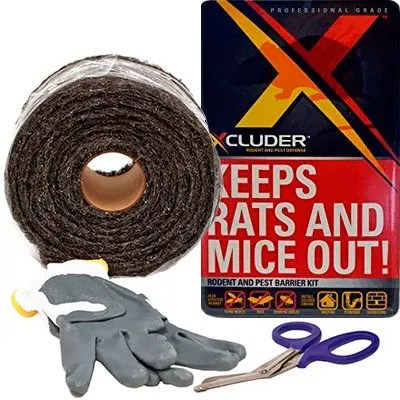 XCluder Steel Wool Kit