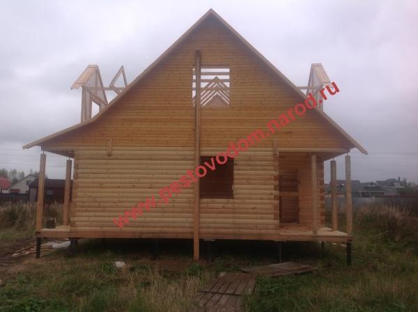 Дом деревянный фото, строительство деревянного дома, дом ...