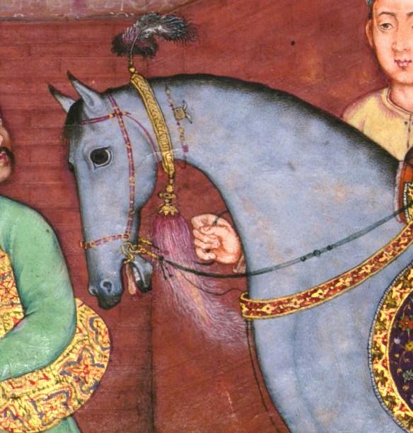 סוס לרכב עליו, תמונה Walters Art Museum Illuminated Manuscripts