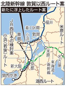 北陸新幹線延伸ルート