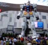 ダイバーシティ東京プラザ ガンダム立像