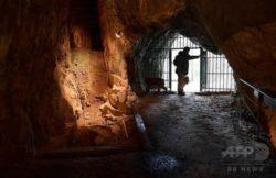 ベルギー ゴイエ洞窟