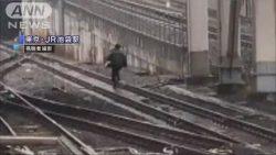 池袋駅 逃走する痴漢