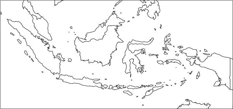 Gambar peta indonesia ukuran kertas hvs. Peta Indonesia Peta Hd Com